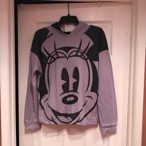 Purple Mini Mouse hoodie